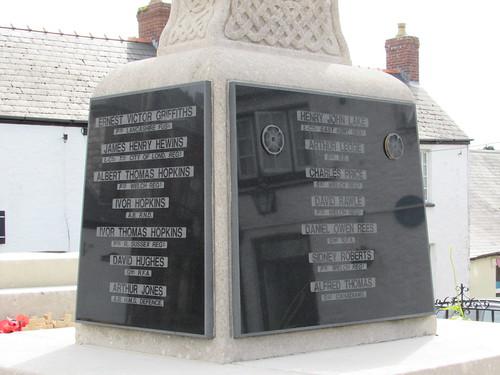 Llantwit Major: War Memorial (South Glamorgan)
