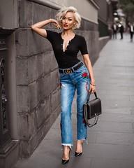 10 (inesabachurina) Tags: streetstyle aplique jeans