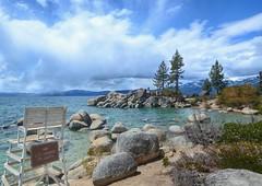 Sand Harbor on Lake Tahoe, Nevada (katherine.km) Tags: laketahoe nevada sandharbor lifeguard nature