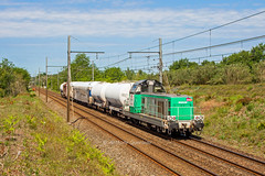 22 mai 2017 BB 69506 Train 817729 Bordeaux-Hourcade -> Marmande Ayguemorte-les-Graves (33) (Anthony Q) Tags: 22 mai 2017 bb train 817729 bordeauxhourcade ayguemortelesgraves ferroviaire fret infra bb69000 bb69400 bb69506 aquitaine gironde bordeaux wagon