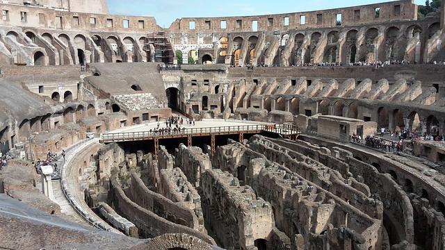 コロッセオ(世界各国の観光名所を巡れるオプショナルツアー)