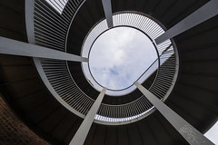 Cricklewood spiral. (Sean Hartwell Photography) Tags: abstract spiral bridge london geometry cricklewood nw2 curves samyang8mm samyang fisheye