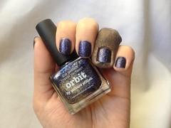 Orbit - piCture pOlish (Daniela nailwear) Tags: orbit picturepolish roxo glitter esmaltes esmalteimportado mãofeita