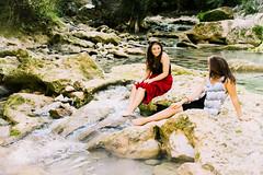 Naiads (Tristan K.) Tags: summer river friend friends friendship water bucolic nature warmth shoot shooting photoshoot beautiful waterfall girl girls
