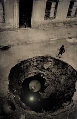 THE GATE by KOTXETXE (KOTXETXE) Tags: surrealism vintage collage drea bizarre weird dark