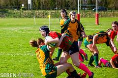 2017:03:25 14:16:49 (serenbangor) Tags: 2017 aberystwyth aberystwythuniversity bangoruniversity seren studentsunion undebbangor varsity rugby rugbyunion sport womens