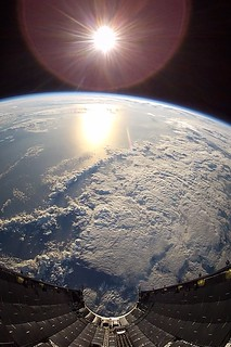 Earth (from SpaceX SES-10)