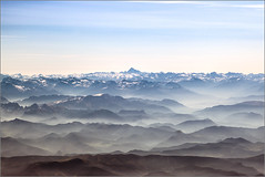 Mont Blanc (mikeyp2000) Tags: morning montblanc valleys mist mountains mountain distant aerial misty early valley