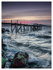 Just Constant (Deek Wilson) Tags: holywood kinnegar jetty belfastlough sea tide pier sunset northernireland landscape seascape canon7dmkii leendgradfilters