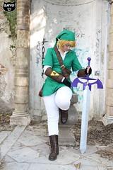 Raduno cosplay Venice April 2017 (Saiyokoy) Tags: link legend zelda thelegendofzelda cosplay cosplayer raduno venice italy elf photoset green