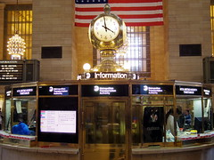 The Station Clock (52er Bild) Tags: nyc grandcentralstation newyork pentax q10 q udosteinkamp grand central terminal hall grandcentralterminal train bus transportation amerika america usa