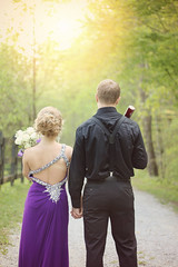 (jemappelle.adam) Tags: prom couple girl boy baseball fun dress purple highschool canon70d spring springtime teens teenager promdress