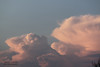 Retreating Storm (Jenny Titford Photography) Tags: cumulo nimbus stormclouds evening sun pink cloud