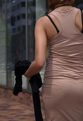 The Sidewalk Shot (Scott 97006) Tags: sidewalk hipshot woman female lady walking city rear derrier butt backside skin tattoo shapely curves curvaceous derriere buttocks