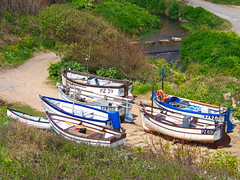 Cornish Fishing Boats, Penberth Cove (mpb_17) Tags: vehicle boat fishing