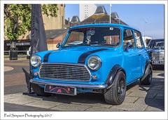 Blue Classic Mini (Paul Simpson Photography) Tags: lincolnshireimpsminiclub scunthorpe sonya77 imagesof imageof photoof photosof mini car carshow classiccar transport paulsimpsonphotography cars motorcar british icon iconic bluemini bluecar scunthorpecarshow carshows england