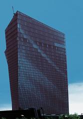 Europäische Zentralbank (elmar theurer) Tags: europäische zentralbank europa architektur architecture architekturfotografie bank gebäude deutschland hessen architecturelovers frankfurt
