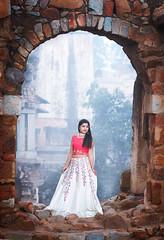 Bride to be !! (pankaj.anand) Tags: 85mm canon60d strobe sandhaya desigirl prewedding preweddingshoot wedding shoot delhi girl delhigirl portrait outdoor hauzkhaas fort fortindelhi shootindelhi lehnga indiandress 2017 portrait2017
