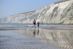 Family Beach Time - DSCF2631 (s0ulsurfing) Tags: s0ulsurfing 2017 april isle wight beach coast compton family