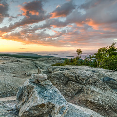 cairn II (paul noble photography) Tags: newhampshire newengland sunset clouds serene northeast awesomeclouds interestingness interesting insanelight granite granitestate mtmajor cairns hikenh nikon