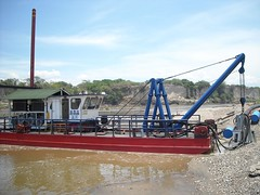 dredge sand extraction dragflow
