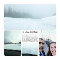 LOAD13 Scary Drive (girl231t) Tags: load13 load517 load projectlifeapp 12x12layout layout scrapbook 2017