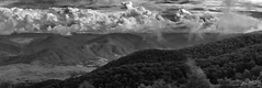 Carson's Vision (OzzRod) Tags: pentax k3 smcpentaxda55300mmf458 landscape stitch panorama monochrome blackandwhite lookout viewpoint carson thunderboltsway dailyinmay2017