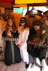 Chastity, Punchinello, and Wrath (beppesabatini) Tags: carnevalefantastico2017 carnevalefantastico bluerockspringspark vallejo california renaissancefairs italianrenaissance avalonthemedevents historicalrecreation wwwcarnevalefantasticocom