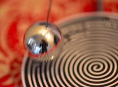 Macro Monday~ ICM (Karen McQuilkin) Tags: mondays magnetyesno macro selfie icm 3inches ball refelction motion