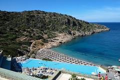 Crete, Daios Cove (tweedy35) Tags: beach island coast europe resort swimmingpool greece crete springtime daioscove canong1x sunny aegeansea travel mediterranean shore sunbathing kriti lasithi blue canon sea rocks