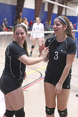 IMG_0581 (SJH Foto) Tags: girls volleyball teen teenager team nook u16s substitution sub rotation