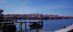 Arriving in Fiskebackskil at the West Coast of Sweden (JRJ.) Tags: sverige sweden vestkysten westcoast seascape city summer