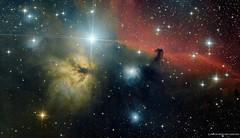 IC434 o Cabeza de Caballo (ACHAYA - Astrofotografías) Tags: ic434 cabeza de caballo achaya pochoco astrometrydotnet:id=nova2048811 astrometrydotnet:status=solved