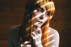 Reflect the Light (technicolor dreams) Tags: self portrait light window indoors pale septum piercing dof canon t3 1100d 60mm orange red hair conceptual