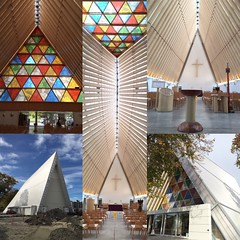 Cardboard Cathedral (eyair) Tags: ashmashashmash nz newzealand chch earthquake cardboardcathedral christchurch