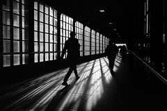 Berlin (Bo Hvidt) Tags: fujifilmxt2 xt2 fujinonxf1024mmf4rois xf1024mm bohvidt blackwhite bw blackandwhite monochrome nik nikcollection silverefex berlin friedrichstrase station