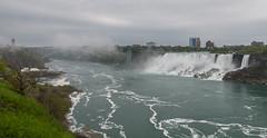 Early Morning at the American Falls (Scott Michaels) Tags: nikon d600 nikon1635mm canada niagarafalls waterfall americanfalls rainbowbridge