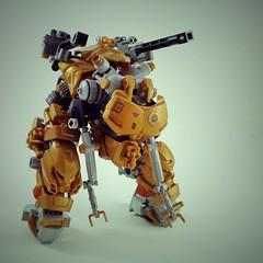 Die Sache II Mech (Marco Marozzi) Tags: lego legomech legodesign moc mecha mech marco marozzi maschinen krieger mak droid drone dieselpunk walker