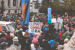 the climate is changing and it's real (FADICH PHOTOGRAPHY) Tags: science march themarchforscience 2017 april earthday earth day lisaparshley activism protest olympia washington environmentalism gogreen clean energy vote womenofscience climatechange climate change global warming poverty war drought resourcescarcity