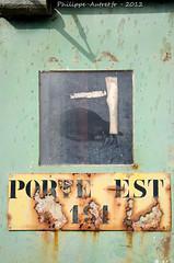 Les Capucins , Brest (philippe.autret) Tags: capucins brest plateaudescapucins porte rouille fer rouillé plateau des
