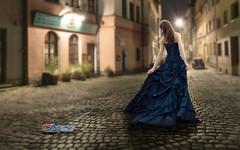 Carlos Atelier2 - Passeio a noite (Carlos Atelier2) Tags: carlos atelier2 passeio noite mulher vestido longo