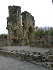 P1110859 Basingwerk Abbey, Holywell, Wales (34) (archaeologist_d) Tags: wales cistercians 12thcentury basingwerkabbey holywell abatydinasbasing