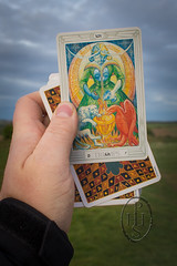 Talking With Thoth (3) (PHH Sykes) Tags: thoth tarot aleister crowley frieda lady harris card deck book