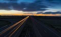 Traffic (Tom Herlyck) Tags: traffic cars beautiful drive lighttrails sunset amazing colorado sky pikespeak boone ushwy50 sh96 clouds southeastcolorado pueblo road awesome highplains april easter southeasterncolorado southerncolorado easterncolorado
