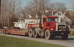 "Brockway ""James Julian"" (PAcarhauler) Tags: brockway truck semi tractor trailer husky"