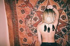 (Gianni Cumbo) Tags: trippy hallucination bindi dreamcatcher dream girl film filmography model woman spiritual geometry