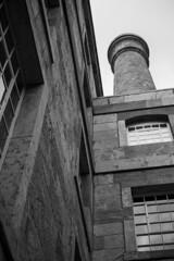 |3|365| (MegsPhotosUK) Tags: architecture plymouth devon southwest rwy royalwilliamyard listedbuilding grade2 blackandwhite bwphotography blackwhite nikon 40mm nikond5300 d5300 window windows chimney brick