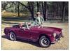 1974 MG Midget - My First Car (GAPHIKER) Tags: mg midget mgmidget 1974 iowa davenport creditisland park nicebeltbuckle explore gofigure