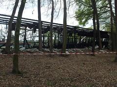 RIP Waldstadion (mkorsakov) Tags: waltrop stadion ground waldstadion tribüne tribune stand feuer fire arson brandstiftung rip