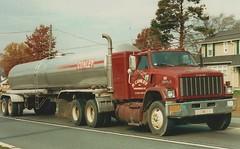 GMC Brigadier, R Conley #101 (PAcarhauler) Tags: gmc brigadier tanker truck semi trailer tractor
